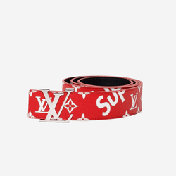 LV x Supreme Belt