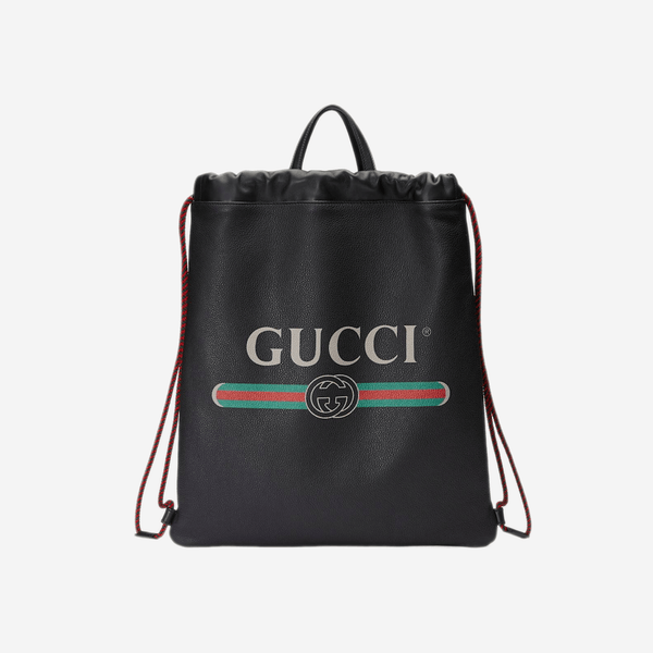Gucci Drawstring Backpack