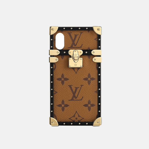 Tan LV EYE-TRUNK