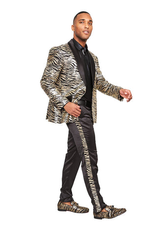 trendy slim-fit suit for Prom
