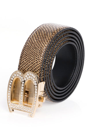 Showtime Gold - Premium Belts For Men