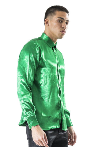 Green Long Sleeve Shirt for Patrick Day