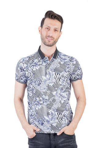 top abstract print for men