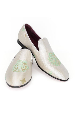 Green Loafers for Men