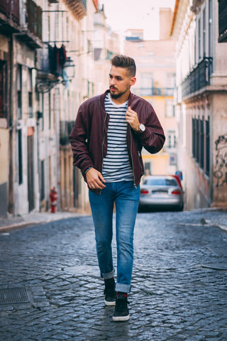 Outerwear With Bomber Jacket