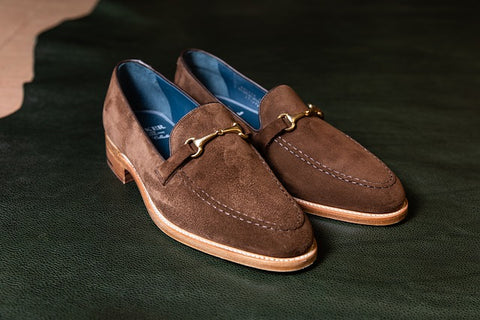 A Pair of Suede Loafers