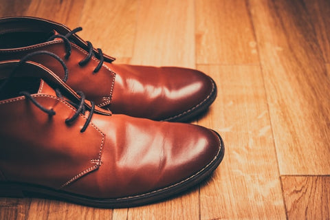 A pair of Tan Leather Boots