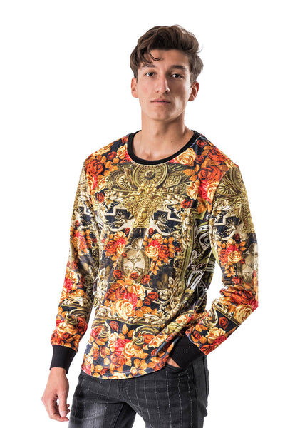 BARABAS Men Sweater Multiplex LV105 Multi Color