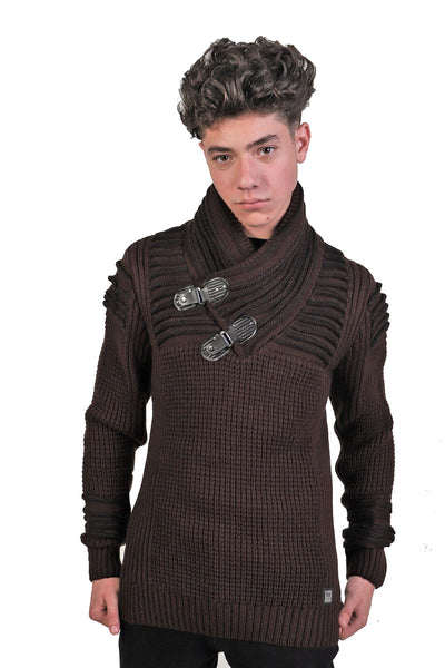 BARABAS MEN Sweater Feroze LS206 WINE