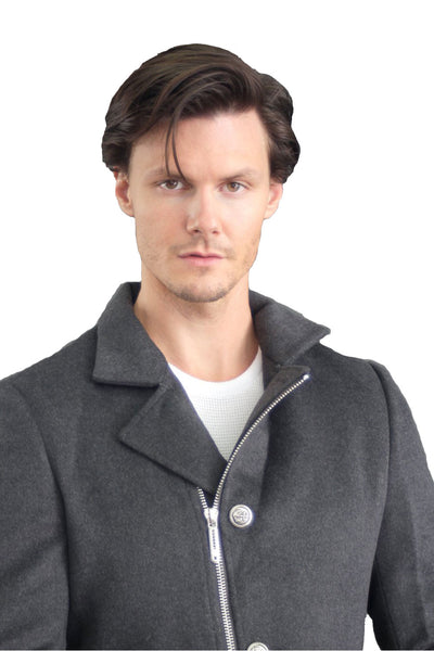 Barabas Men Coat Sailing 9601-GREY-2 Grey