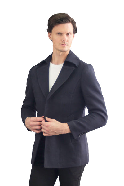 Barabas Men Coat Shipmate 991-Blue-2 Blue