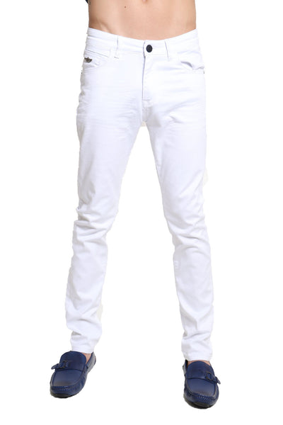 BARABAS Men Jeans Don't Spill '1700 White