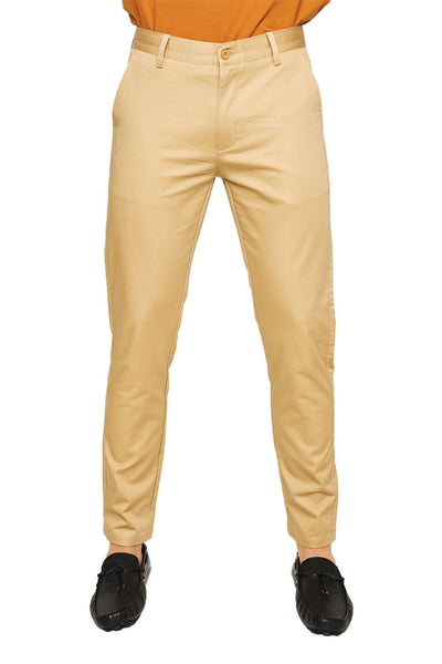 BARABAS Men Pants Live - Black B2072 Khaki