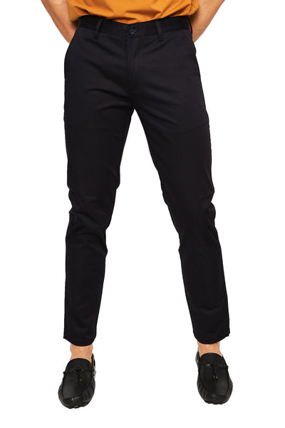 BARABAS Men Pants Live - Black B2072 Black