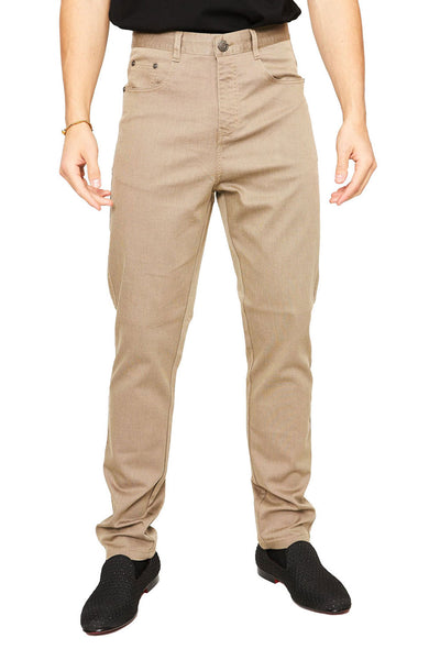 BARABAS Men Pants Discretion- Cream B2075 Cream