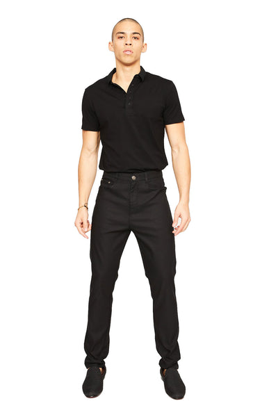 BARABAS Men Pants Discretion- Black B2075 Black