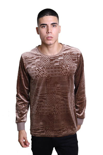 BARABAS Men Sweater Robotic LV102 Gold