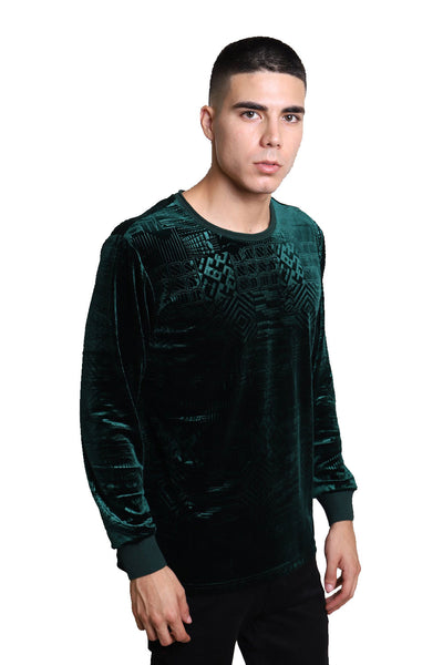 BARABAS Men Sweater Robotic LV102 Green