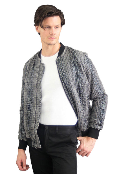 Barabas Men Bomber Snake BJ2184 - GREY-1
