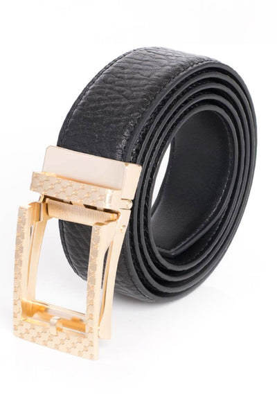 BARABAS Men Belt MATT GOLD/ WHITE BK28 MATT GOLD/WHITE
