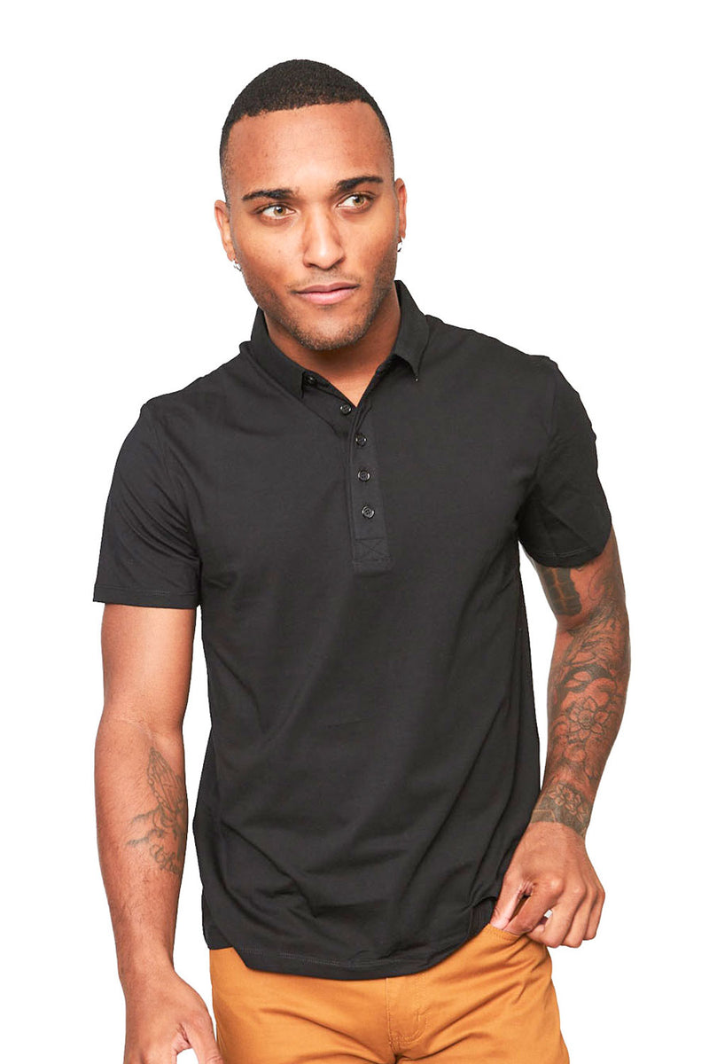 Polo Up- Black