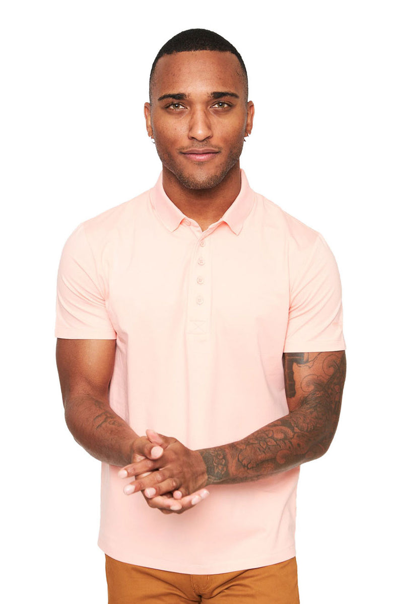 Polo Up- Pink