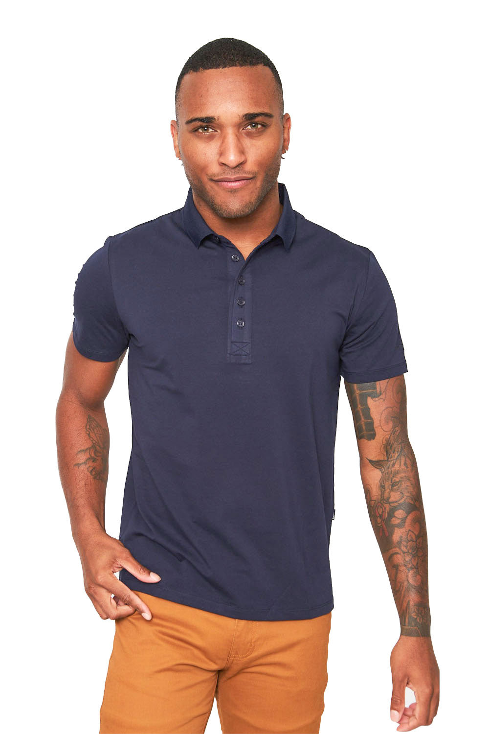 Polo Up- Navy