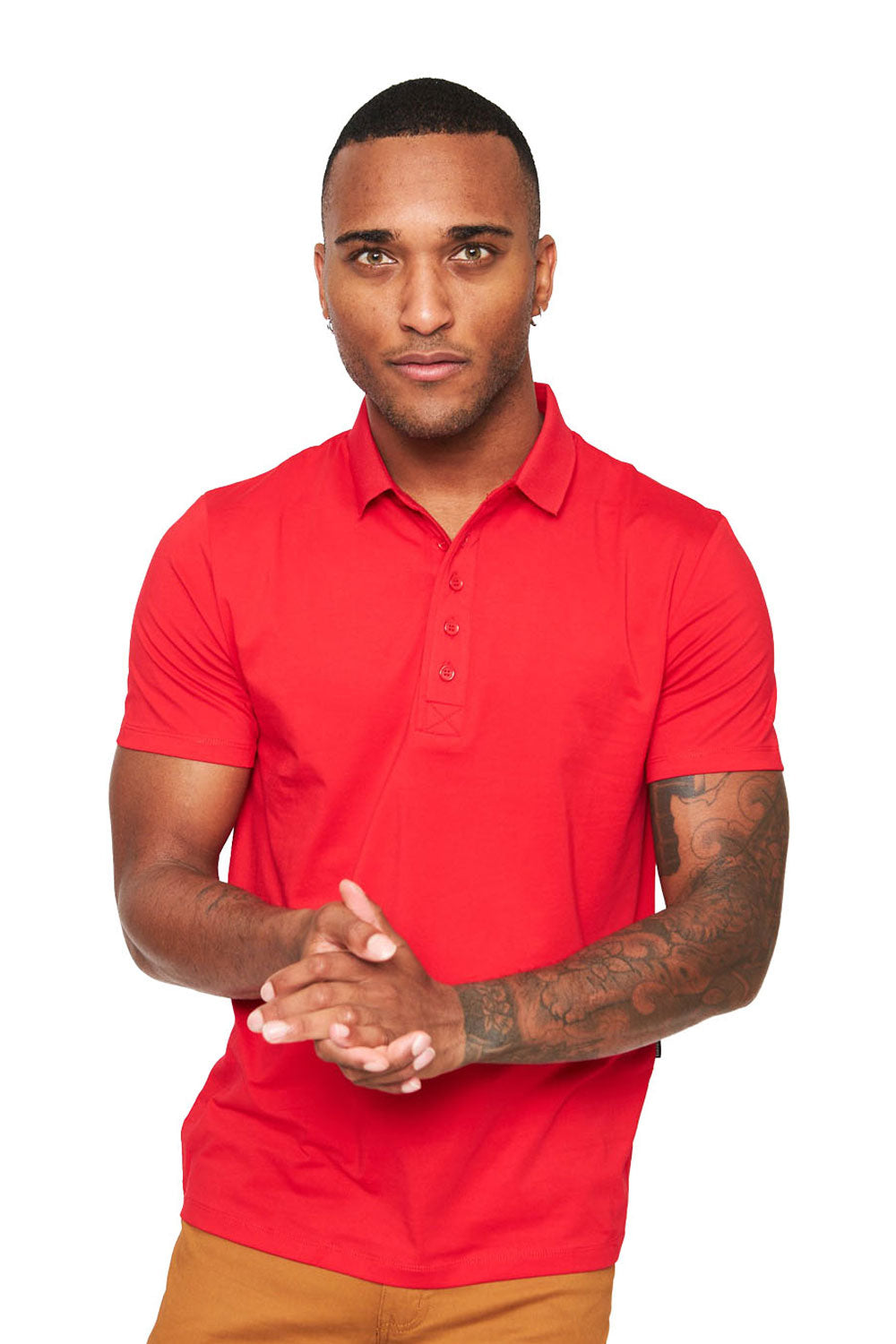 Polo Up- Red