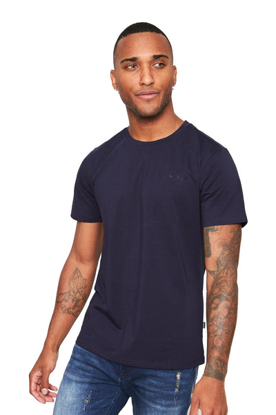 BARABAS Men Shirt High Fashion- Navy ST933 Navy
