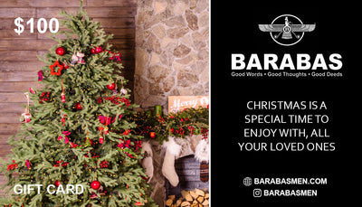 Barabas  $100 $200 $300 Merry Christmas Gift Cards