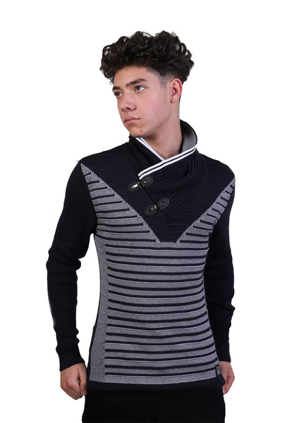 BARABAS MEN Sweater Feroze LS206 NAVY
