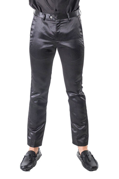 BARABAS Men Pants Chaps-Black VP1020 Black