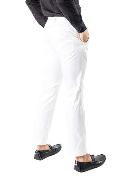 BARABAS Men Pants Extent- White VP1010 White