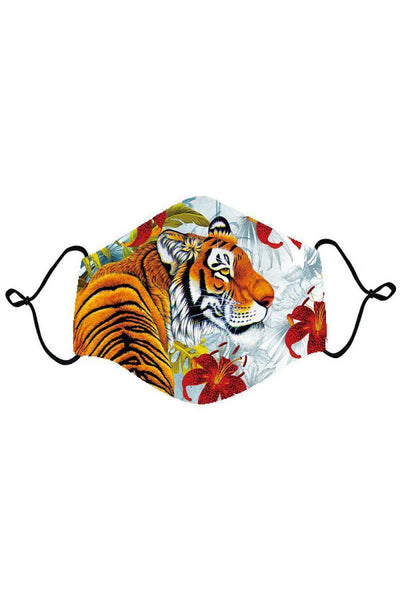 BARABAS Men Mask Wild Roar Mask MSP203-MUL Multi Color