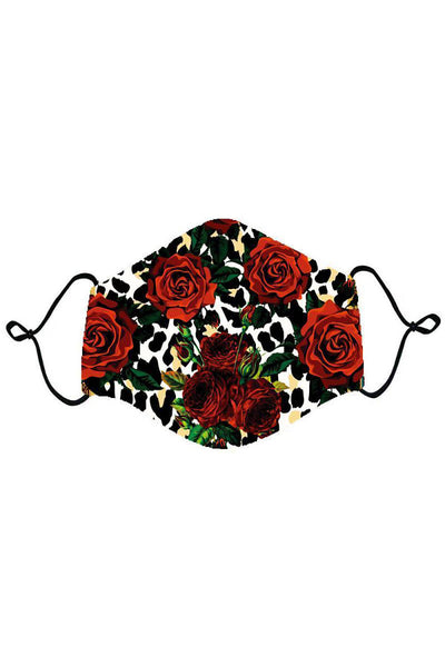 BARABAS Men Mask Roses And Thorns Mask MSP964-MUL Multi Color