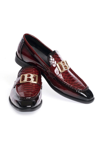 BARABAS Men Shoes Superior- WineRed SH4054- WINERED Wine