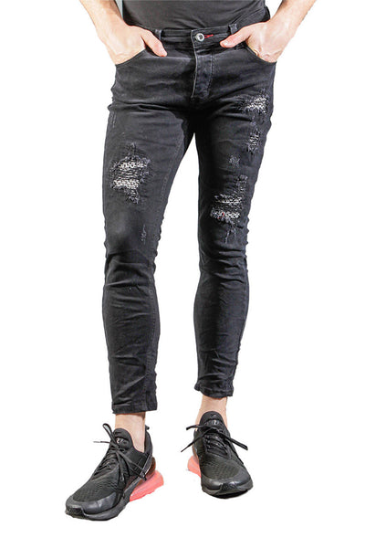 BARABAS Men Jeans Walk it Out V5010 Black