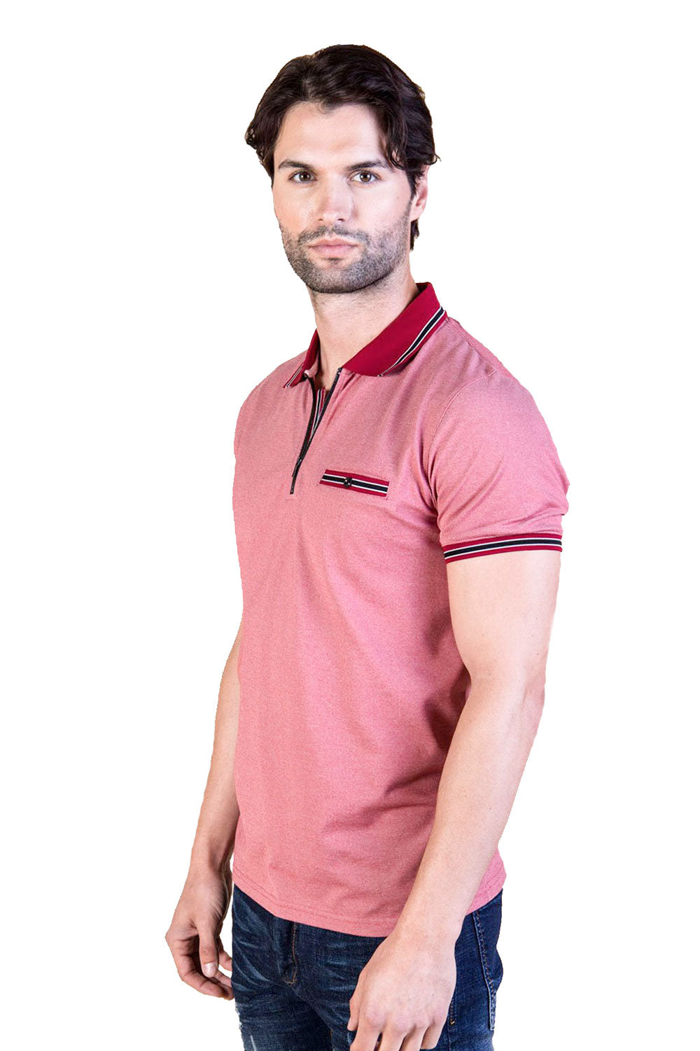 Patriot -Zippered polo shirt | BARABAS