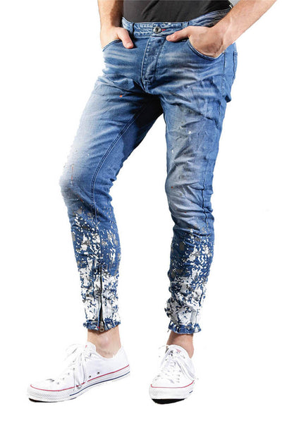 BARABAS Men Jeans No Stress V5014 Blue