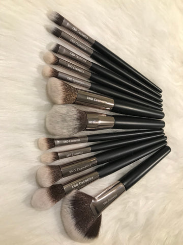 XNO Cosmetics 12 piece brush set