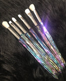 XNO COSMETICS WHITE Crystal Brushes