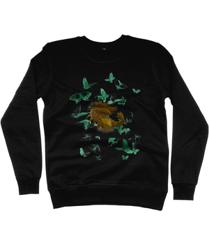 N62 Classic Sweatshirt *DRAGON BUTTERFLY