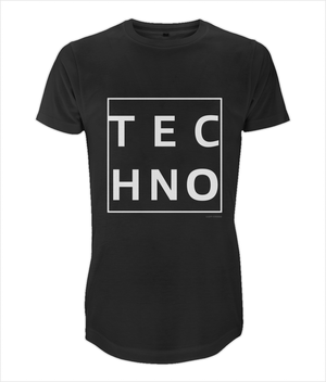 Long Men's T-Shirt *TECHNO BOX