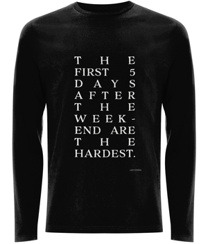 EP01L Men's Long Sleeve T-Shirt THE FIRST 5 DAYS