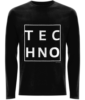 EP01L Men's Long Sleeve T-Shirt TECHNO BOX