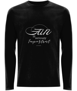 EP01L Men's Long Sleeve T-Shirt Fun is seriously important