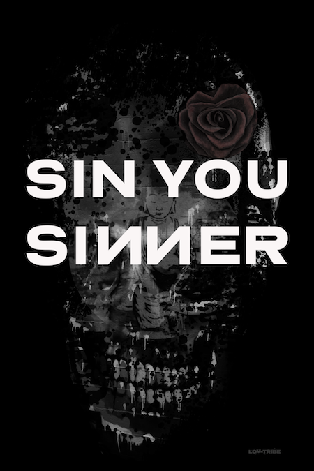 Long Men's T-Shirt *SIN YOU SINNER