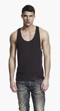 Low neck vest picture example