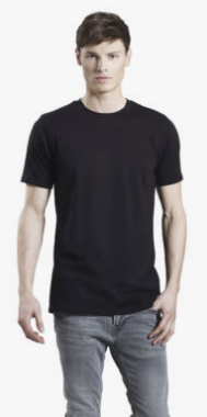 SKINNY FIT STRETCH T-SHIRT PICTURE EXAMPLE