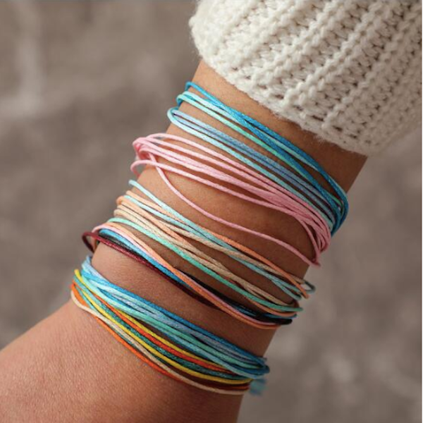 6pcs/set Boho Beach Surf Handmade Multilayer Bracelets
